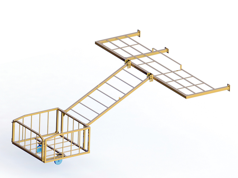 Single duct trolley